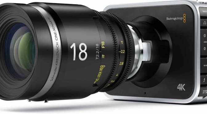 BlackMagic Production 4K camera