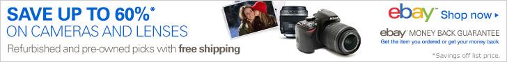Camera Lenses eBay promotion