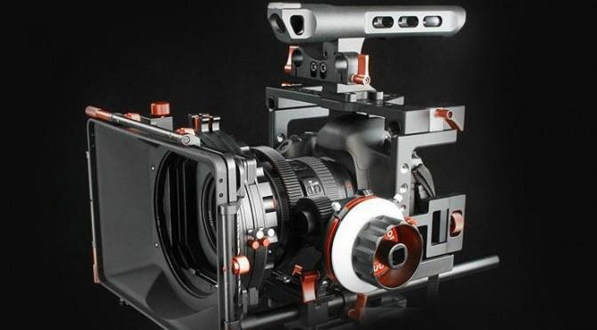 Panasonic GH4 camera rig