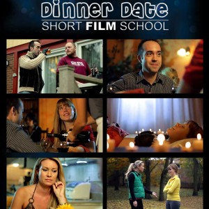 DVD Front Cover - Dinner Date Short Film School