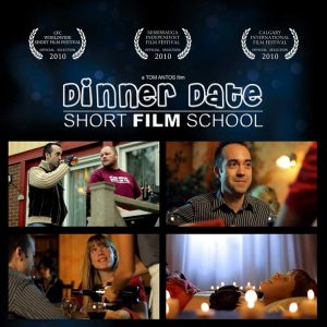 Dinner Date Short Film School cover