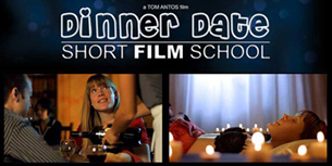 Dinner Date Short Film School banner