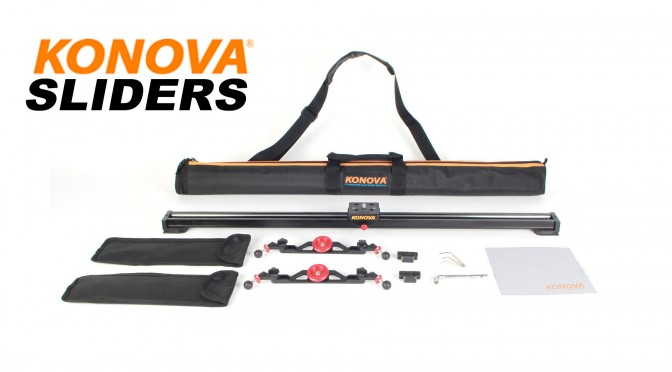 Compact Travel Sliders from Konova