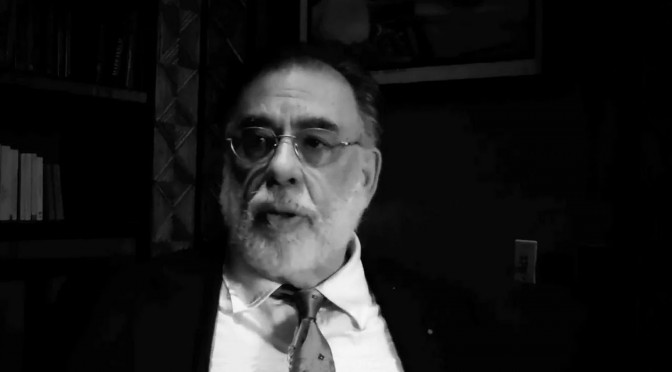 Francis Ford Coppola interview screenwriting
