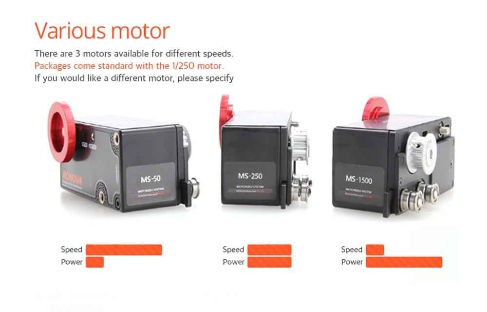 Konova ms motors various choices