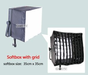 SoftBox With Grid For 1024 LED Light