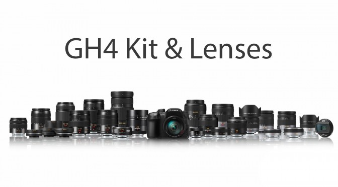Panasonic GH4 Kit & Lenses for Video