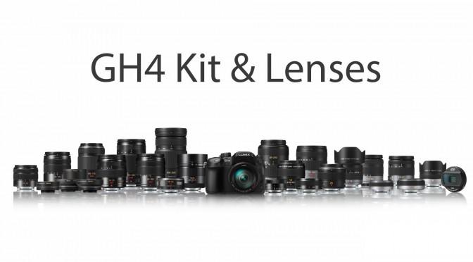 Panasonic GH4 Kit & Lenses for Video