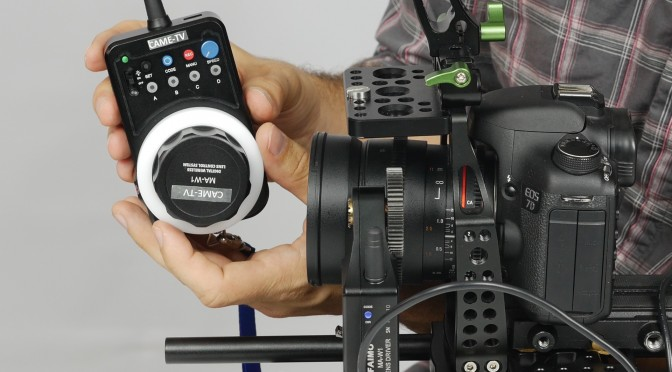 Pro Wireless Follow Focus from CAME-TV
