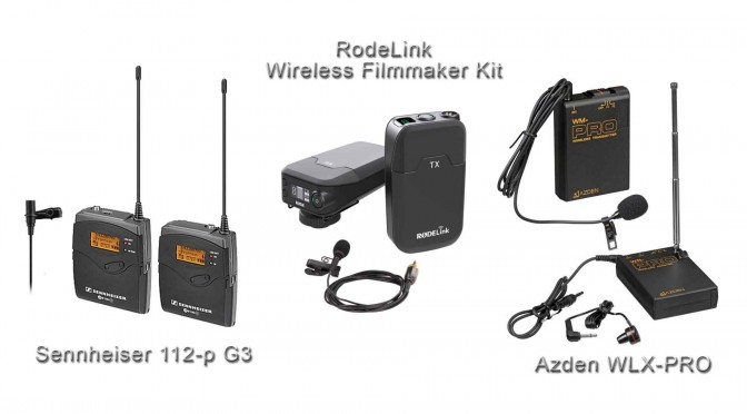 Best Wireless Lavalier Microphone Systems – Rode vs Sennheiser vs Azden