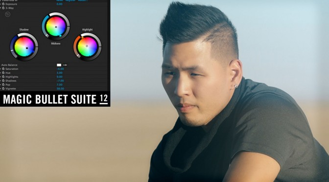 Color Grading with Magic Bullet Suite 12
