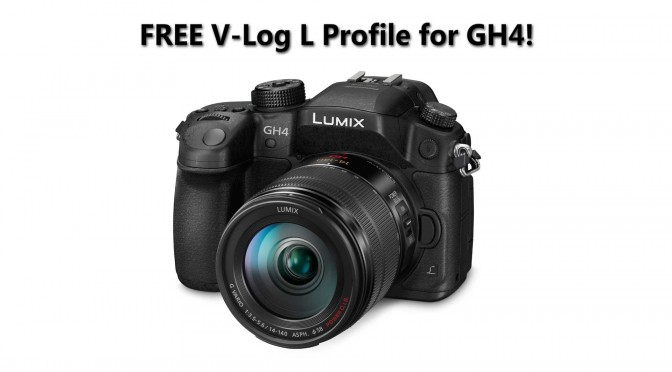 GH4 Firmware 2.3 with V-Log available now for FREE!