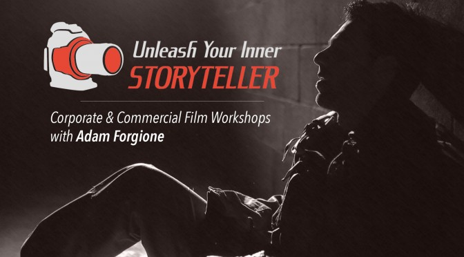 INFLUENTIAL FILMMAKER AND INSTRUCTOR ADAM FORGIONE HEADLINES NATIONAL WORKSHOP SERIES IN FALL 2015