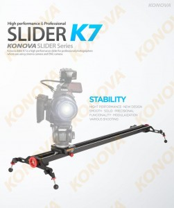 Konova K7 slider