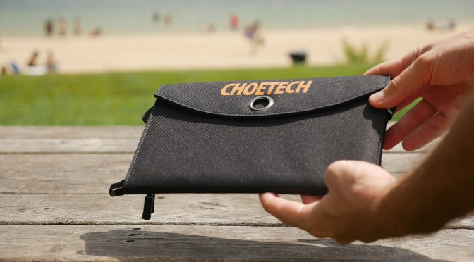 Portable Solar Charger and USB Battery