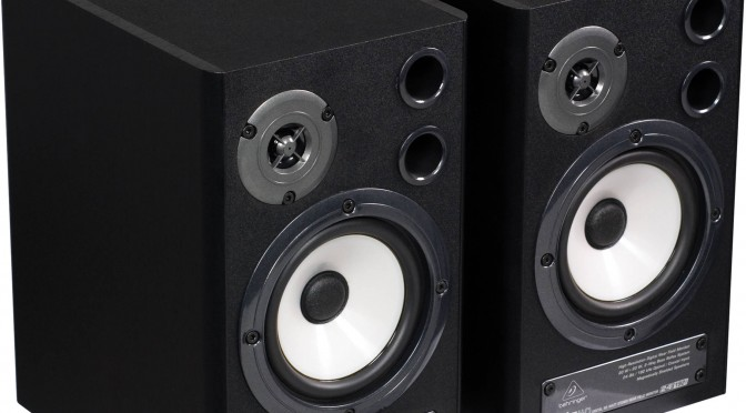 Behringer MS40 studio monitor speakers