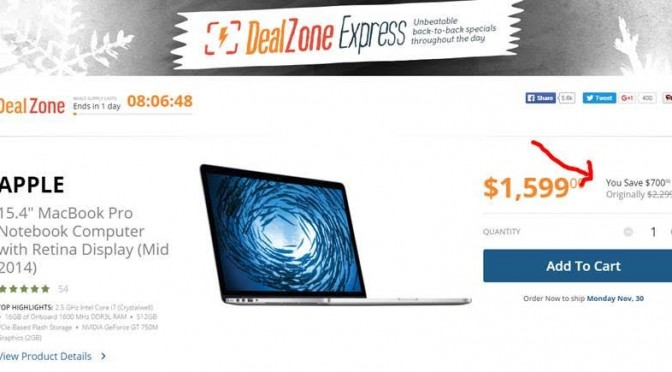Save $700 off on a MacBook Pro!!!
