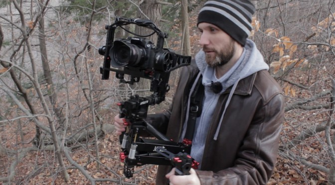 4th Axis stabilization for camera gimbals!