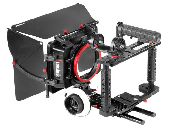 Camtree-kit-100-with-camshade-matte-box-x5-Follow-focus-2