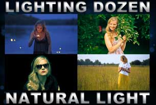 Lighting Dozen - Natural Light - Tutorials