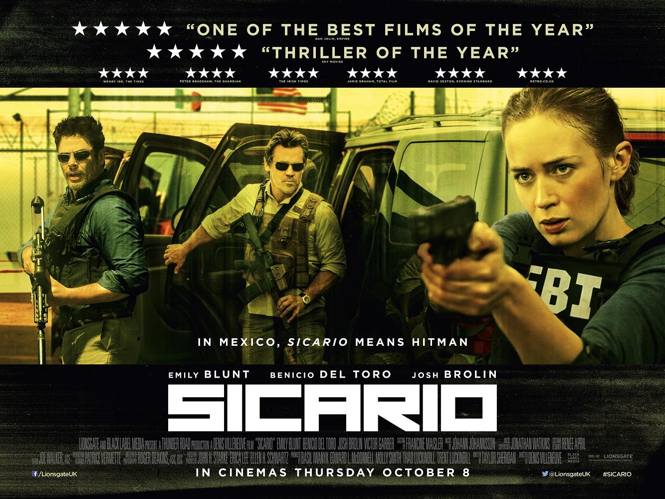 "The Cinematography of ""Sicario"" | Tom Antos Films"