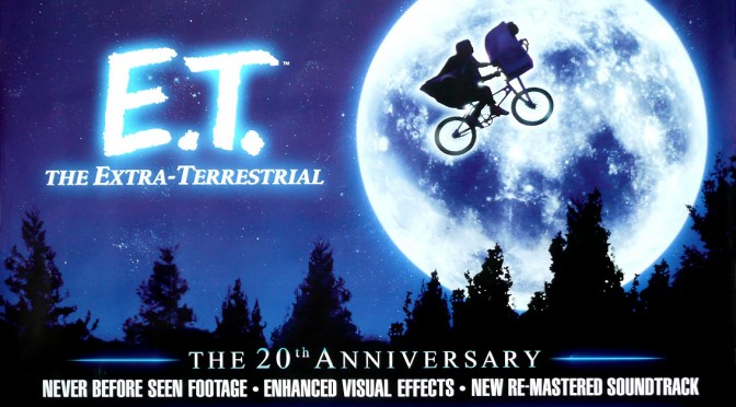 e.t. extra-terrestrial poster