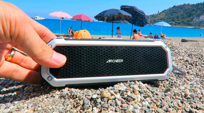 Archeer Portable Bluetooth Speaker