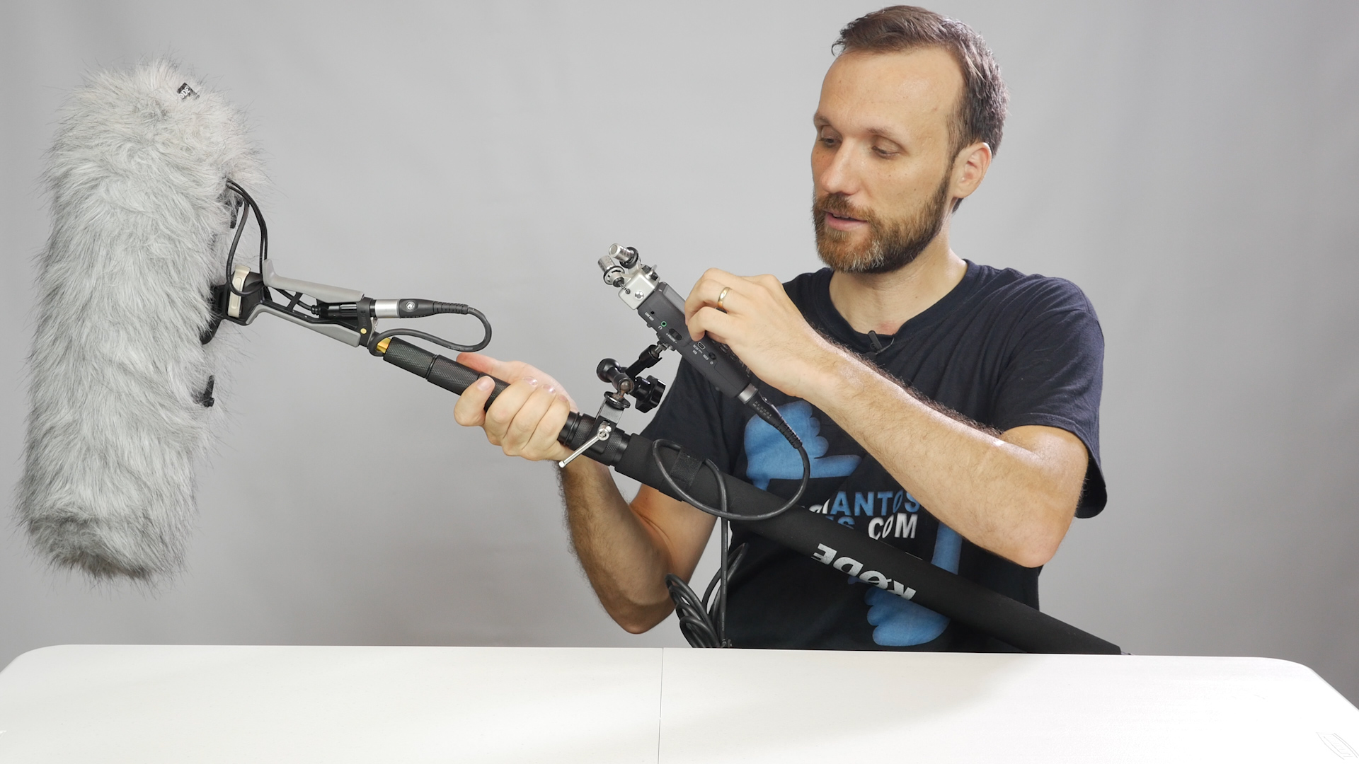 Best Indie Film Audio Setup With Rode Ntg 4 Shotgun Mic