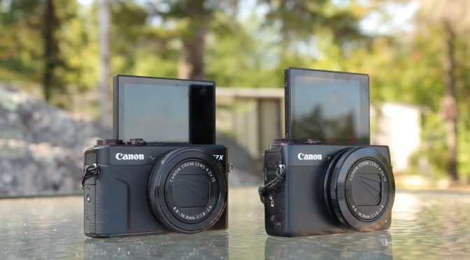 Canon G7X Mark I vs Mark II