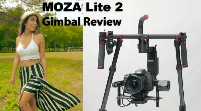 Moza Lite 2 – 3-axis camera gimbal review