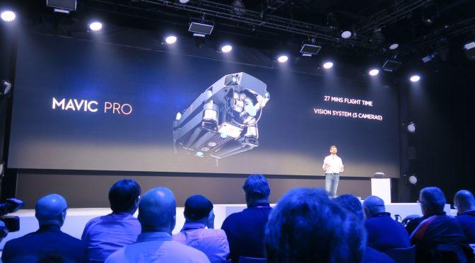 DJI Mavic Pro launch