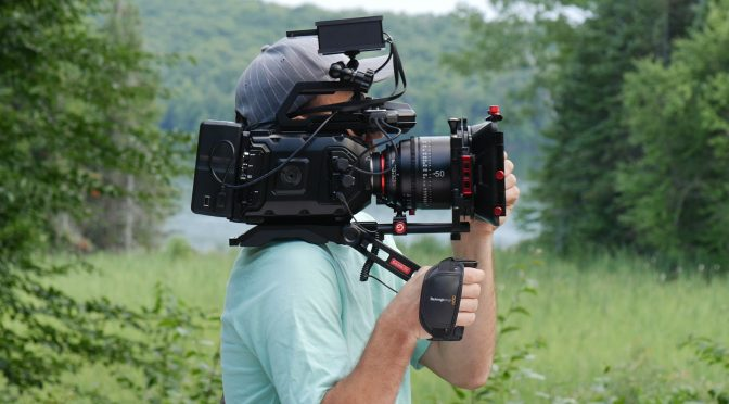 BlackMagic Ursa Mini 4.6 camera and rig