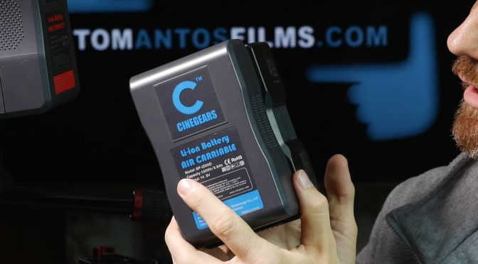 Cinegears V-Mount Batteries