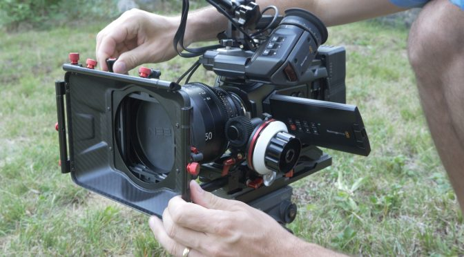 CAMTREE-MB-20 CF Swing Away Carbon Fiber Matte Box
