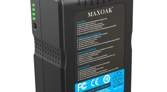 Maxoak V-Mount Batteries