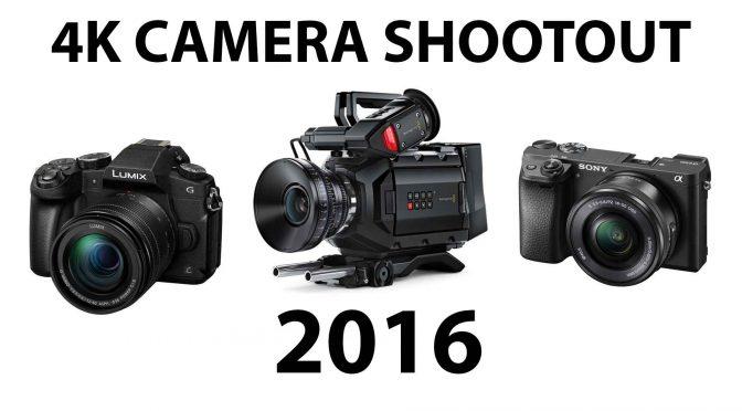4K Camera Shootout of 2016!