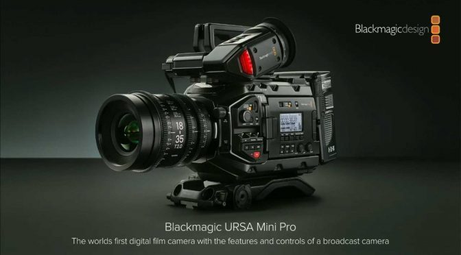 New Camera and Control Panels from Blackmagic Design!