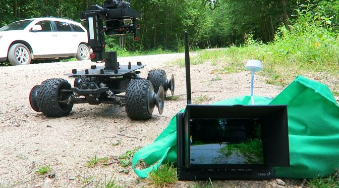 RC Camera Platform – Eclipse Rover