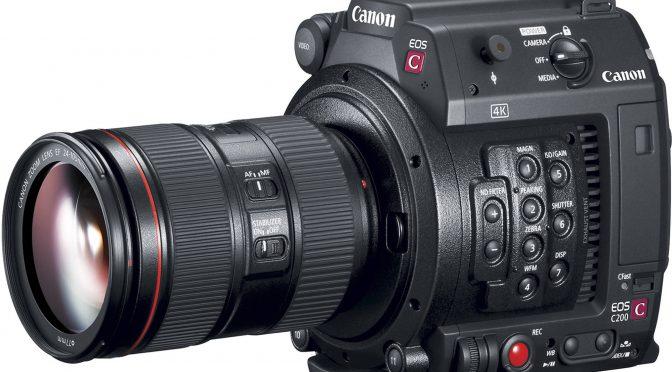 Canon C200 – URSA Mini 4.6K competitor
