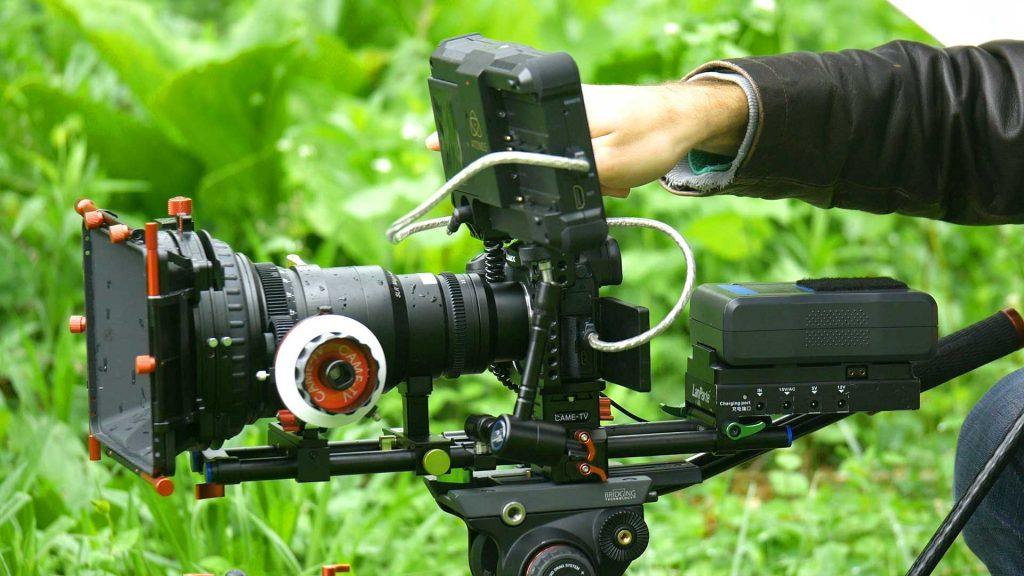 Panasonic GH5 camera and rig