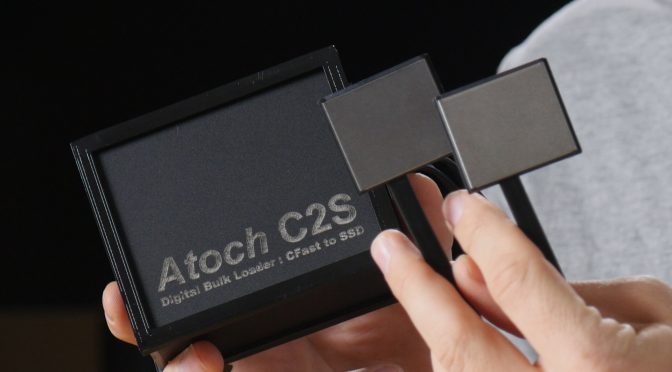 Atoch C2S CFast to SSD Hack for Blackmagic URSA and URSA Mini Cameras