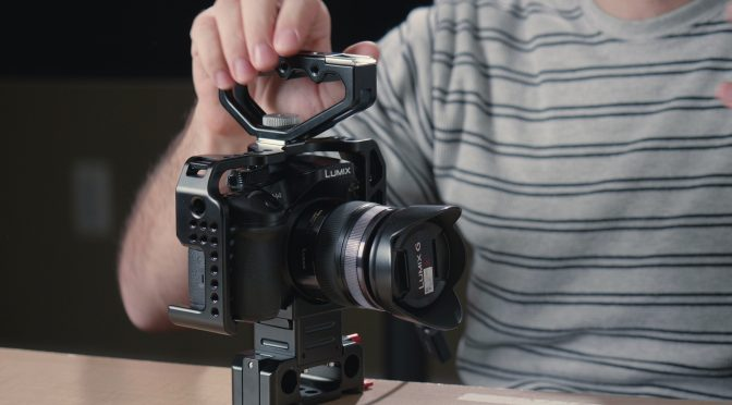 CAME-TV cage for Panasonic GH4