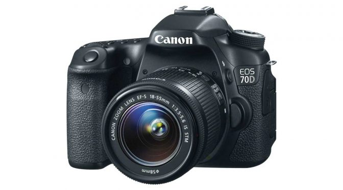 Canon EOS 70D — solid all-around DSLR
