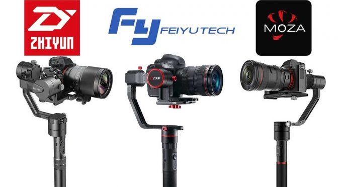 Gimbal Shootout: Moza Air – Feiyu-Tech a2000 – Zhiyun-Tech Crane v2
