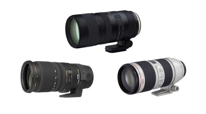 Battle of Telephoto Zooms: Canon, Tamron, Sigma 70-200mm f/2.8