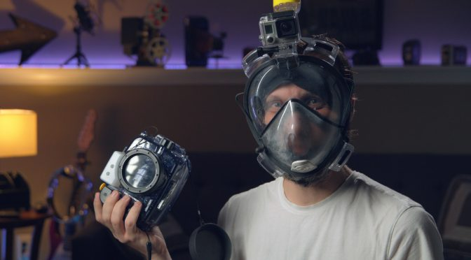 Professional underwater camera rig for less than $300