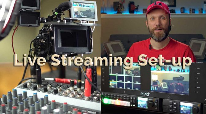Live streaming set-up Tom Antos