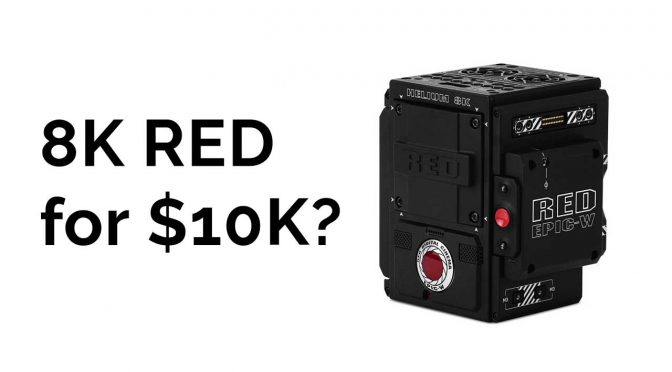 RED 8K camera for one-third the price… possibly