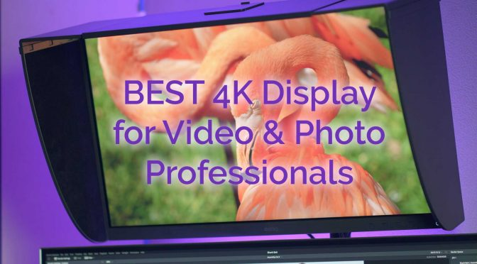 BEST 4K Display for Video & Photo Professionals