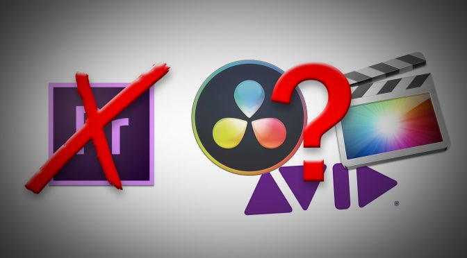 Time to quit Adobe Premiere for Final Cut, Avid or Davinci Resolve?